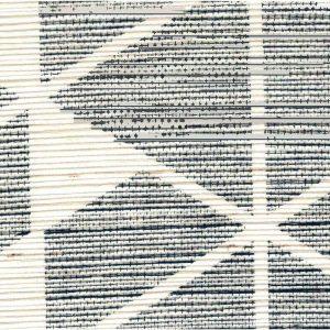 G0153PT1004 NAVY ON WHITE SISAL
